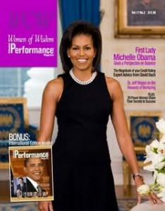 WOW Performance Michelle Obama Cover